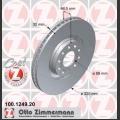 A4 Zimmermann etujarrulevyt pari 320x30