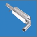 Stainless Steel Sport Centre Silencer for Audi A3 type 8L