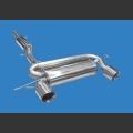 Stainless Steel Sport Exhaust system for Audi TT 1.8T type 8N Quattro