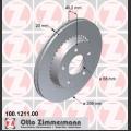 A8 Zimmermann takajarrulevyt pari 269x20mm