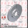A4 Zimmermann etujarrulevyt pari 288x25