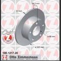 100/A6 Zimmermann takajarrulevyt pari 245x10mm