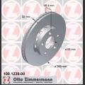 A8 Zimmermann takajarrulevyt pari 269x22mm