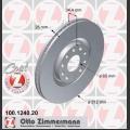 A3/S3/TT Zimmermann etujarrulevyt pari 312x25mm