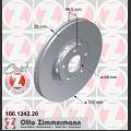 A4 Zimmermann etujarrulevyt pari 312x25