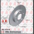 A4 Zimmermann takajarrulevyt pari 245x10